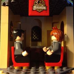 Gryffindor Common Room (David$19) Tags: lego legoharrypotter gryffindorcommonroom gryffindortower hogwartscastle hogwarts ronaldweasley harrypotter gryffindor