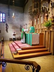 Summer 2017 (Saint John's Church, Passaic, New Jersey) Tags: saintjohnschurchpassaicnewjerseyusa episcopal episcopales anglican anglicanos anglocatholic anglocatolicos sungmass misacantada altar chasuble casulla incense incienso