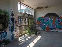 E-M1MarkII-13. Juli 2017-15-40-55 (spline_splinson) Tags: consonno graffiti graffitiart graffity italien italy lostplace losttown ruin ruinen ruins lombardia it