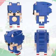 BrickHeadz: Sonic the Hedgehog (Unijob Lindo) Tags: lego leg godt bricks brickheadz brick heads brickheads sonic sega hedgehog dr eggman doctor robotnik ivo egg man walrus genesis mega drive saturn dreamcast service games videogames game green hill generations mania igel toys render blender mecabricks digital designer rendering classic 90s collectible collectibles funko pop funkopop klocki stein moustache shoes blue spikes slope curved tan mustache goggles glasses bald scientist human villain nose baldy mcnosehair lost world