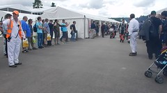 Motorbikes Going to the Assembley Area, Goodwood Festival of Speed (3) (f1jherbert) Tags: nikon coolpix s9700 goodwood festival speed 2017