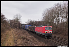 DB Cargo 143 882, Ahlten 18-02-2017 (Henk Zwoferink) Tags: lehrte niedersachsen duitsland henk zwoferink hannover db cargo br143 143
