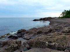 Superior Shore (Knaupter) Tags: minnesota mn northshore shore beach river lake superior lutsen silverbay