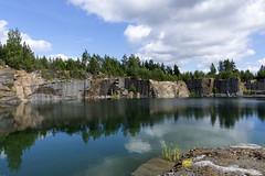 Ylämaa (jannaheli) Tags: suomi finland lappeenranta ylämaa mättö nikond7200 luontovalokuvaus naturephotography kesä summer sunny sunnyday luonto nature maisema landscape quarry louhimo spectrolyticmining spektroliittikaivos