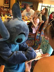 """Stitch Signs an Autograph for Paul • <a style=""""font-size:0.8em;"""" href=""""http://www.flickr.com/photos/109120354@N07/35175497453/"""" target=""""_blank"""">View on Flickr</a>"""