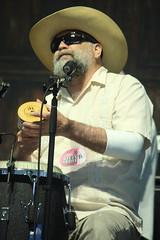 Eric Lindell & The Grand Nationals (2017) 06 - Peter Joseph Burtt (KM's Live Music shots) Tags: americana rockmusic blues soul unitedstates peterjosephburtt ericlindell casaba shaker handpercussion neworleansjazzheritagefestival bluestent fairgroundsracecourseneworleans