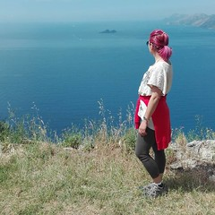 Myself (Amalfi Coast) (Lydia_Reis) Tags: me myself agerola nocelle positano sentiero dei escursionismo trekking nature coast amalfi sea sky colour natura costa mare sport colori camminare gruppo