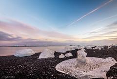Diamond Beach - South East, Iceland (achin1214) Tags: iceland europe nikon d7200 ice diamondbeach icebergs tokina 1120mm sunset nature landscape
