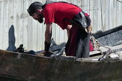 En Viking (evisdotter) Tags: viking man boat båt roterteufel light sooc sjökvarteret mariehamn