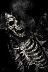 Death (PhilPhotosity) Tags: death skeleton evil dark nightmare art arty