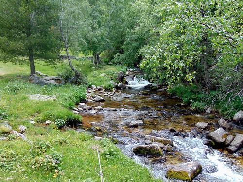 Vall del riu Madriu. Engolasters, a Les Escaldes (Andorra)