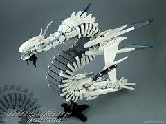 Whitefang Evolved (BobDeQuatre) Tags: lego moc whitefang space scifi dragon