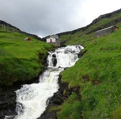 Waterfall (Jaedde & Sis) Tags: waterfall streymoy haldórsvík føroyar challengefactorywinner thechallengefactory
