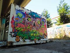 (gordon gekkoh) Tags: baer oakland graffiti btr