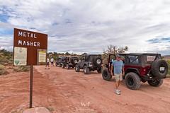 Metal Masher (W9JIM) Tags: w9jim jeep jeeping wrangler jk rubicon moab metalmasher 7d 1635l 16mm sign kickbackjack