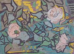 Roses et scarabée - St-Rémy-de-Provence - Van Gogh - 1889_0 (Luc II) Tags: vangogh roses scarabée saintrémydeprovence