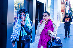 Good smoke (klauslang99) Tags: klauslang streetphotography people women smoking