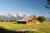 The Thomas A Moulton Barn at Mormon Row (Jeff_B.) Tags: wyoming yellowstone jackson jacksonhole grandteton nationalpark america usa barn antelopeflats thomasmoutlton thomasamoultonbarn morman 1900s settlement mormonrow