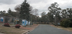 looking back to our old place from 57 Hinkler (spelio) Tags: canberra act australia 2017 july house housing place homes architecture mrfluffy asbestos removal demolition clearing blocks