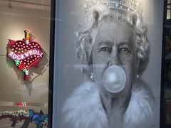 Shepherd Market (jericl cat) Tags: shepherd market london england 2016 neon art queen bubblegum rock roll artwork