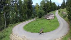 Bözingenberg Hairpin Turn (29in.CH) Tags: summer road bike ride 26072017 yuneec breeze drone hairpin turn climb