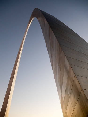 Evening Glow - St Louis Arch