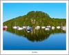 Balmaha Reflected In Morning Light (flatfoot471) Tags: 2005 balmaha boats inchcailloch landscape lochlomond normal scotland stirlingshire unitedkingdom gbr