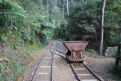 Old gold mines, Karangahake Gorge (RossCunningham183) Tags: karangahakegorge newzealand northisland goldmining heritage railwaylines