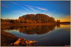 Crépuscule - Barrage de Michelbach (jamesreed68) Tags: michelbach lac lake eau paysage nature soleil crépuscule alsace 68 france hautrhin grandest canon eos 600d