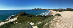 View to Cape Hawke along One Mile Beach, Forster, NSW (Black Diamond Images) Tags: onemilebeach northonemilebeach forster greatlakesnsw nsw midnorthcoast greatlakes sanddune sanddunes dune dunes capehawke australianbeaches beach beachlandscapes landscape coast iphone appleiphone7plus iphone7plus panorama appleiphone7pluspanorama iphone7pluspanorama iphonepanorama sand sandhill