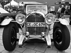 Chromblitzender Oldtimer in Nienhagen. (Wallus2010) Tags: oldtimer auto car bugatti cabrio nienhagen nikon p900 trommelbremse