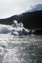 Watching lava flow into the sea 3 (judy dean) Tags: judydean 2017 hawaii bigisland sea ocean lava flow awesome