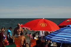 Summer Crowd @ Coney Island Beach (Xu@EVIL Cameras) Tags: suptik 35mm f25 exakta aka enna werk munchen super lithagon summer beach coney island new york