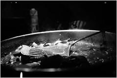DSC08668 (cjeasley) Tags: food cooking cook basil steak meat pasta gnocchi potatos dinner meal comida cocinar macro dining blackandwhite bw