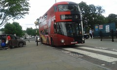Lightning McQueen 3 (Unorm001) Tags: lt634 ltz1634 ltz 1634 abellio london double deck decks decker deckers buses bus routes route new borismaster wright wrightbus for nb4l nbfl routemaster nrm