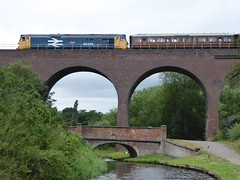Defiance (Mr-NHW) Tags: 50049 defiance diesel locomotive severn valley railway canal kidderminster worcestershire falling sands viaduct
