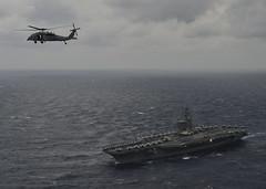 170717-N-JH929-651 (U.S. Pacific Fleet) Tags: ussnimitz cvn68 sailors aircraftcarrier usnavy deployment malabar bayofbengal