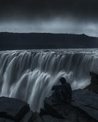 Forlorn World [Detifoss, Iceland] (Majeed Badizadegan) Tags: iceland midnightsun