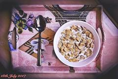 Today's photo GOOD MORNING ☀️ (SVA747) Tags: morning paris cornflakes happy life love photography nikon diary