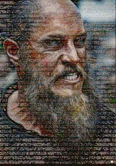 Vikings Mosaico (by zurera) Tags: digital hd art collage retratos portraid zurera people fotomontaje image autoretratos mosaic