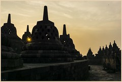 inspiration (i.v.a.n.k.a) Tags: ivanadorn sonyalpha ivanahesova borobudur temple buddha indonesia java yogyakarta sunrise inspiration light illumination