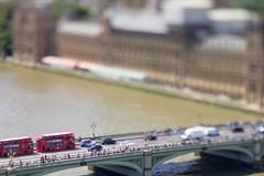 Westminster Bridge (Craig Dyni) Tags: vacation londoneye lensbabyedge80 england london westminsterbridge lensbaby uk unitedkingdom ferriswheel