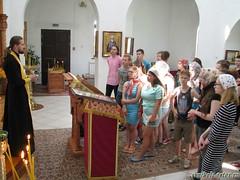 2017 21 июля Посещение группы из санатория в наш храм