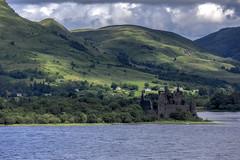 Kilchurn Castle - Scotland (Jan Hoogendoorn) Tags: unitedkingdom scotland kilchurncastle kasteel castle ruine ruins