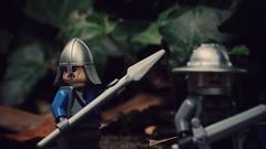 Tension (dwarfbricks29) Tags: lego medieval tension enemy is everywere