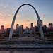 Gateway Arch (Sean Davis) Tags: gatewayarch stlouis drone sunset mavic pro dji missouri unitedstates us