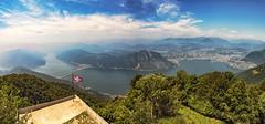 Balcone d'Italia (Fil.ippo) Tags: balconeditalia sighignola lago lugano lake italy italia svizzera switzerland panorama landscape waterscape d610 nikon ceresio filippo filippobianchi cantonticino