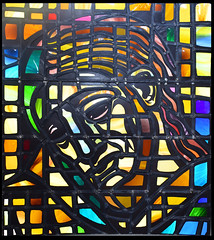 Christ the Worker (1978) (Simon_K) Tags: ely cambridgeshire cambs eastanglia cathedral window glass stained sgm nikon d5300