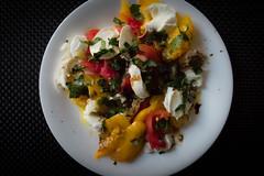 Tomatoes & mozzarella (Arnø N°XX) Tags: tomatoes mozzarella basil salad