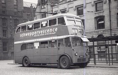 Manchester Crossley 1173. (island traction) Tags: manchester corporation transport city mctd crossley pre war prewar trolleybus tdd4 bus stevenson square 211 31